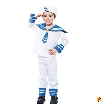 Kinder Kostüm Matrosen Junge