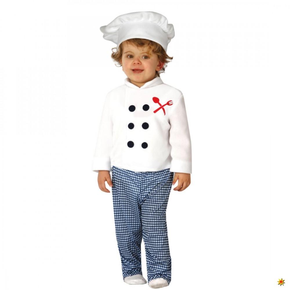 Kinderfasching Koch Verkleidung Küchenjunge Babykostüm Karneval Onlineshop
