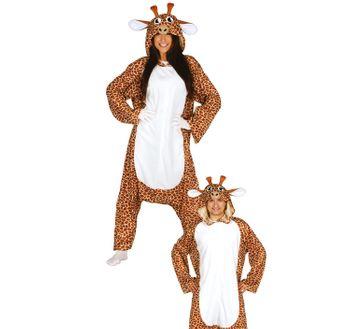 Unisex Kigurumimi Kostüm Giraffe Zahara