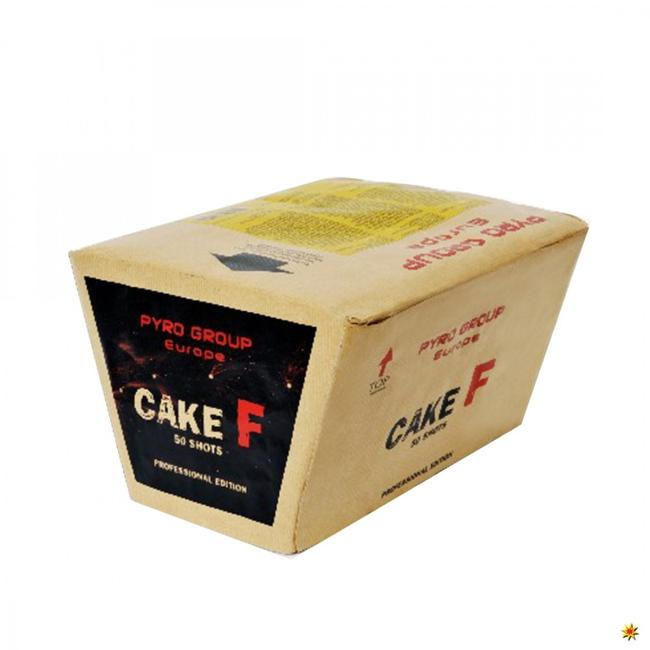 Pyrotrade fireworks Cake F - Feuerwerk kaufen Geburtstag Hochzeit Silvester