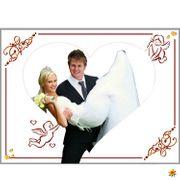Hochzeitslaken Herz Ausschneiden Brauch Spiel