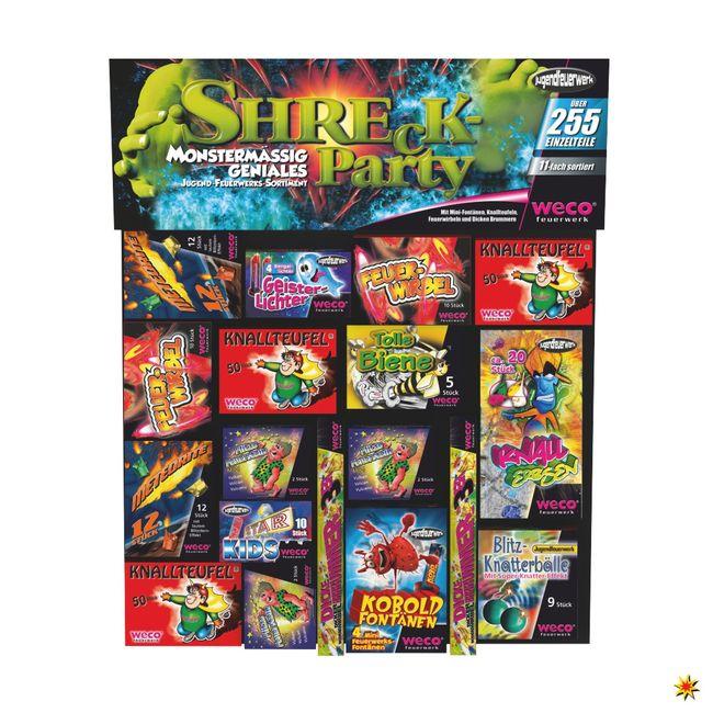 Shreck Party Box Kinderfeuerwerk Weco Feuerwerk kaufen