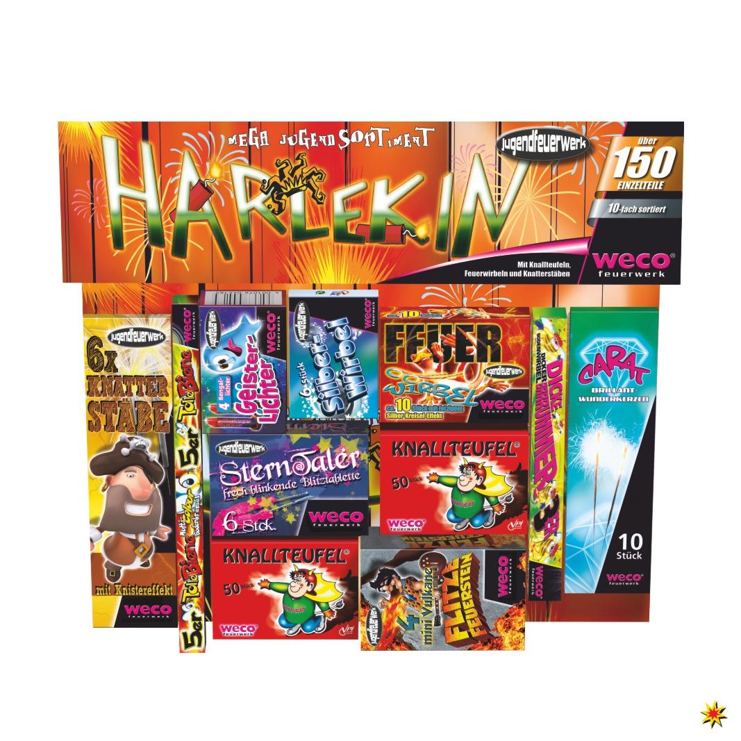 Harlekin Kinder Feuerwerk Weco Ohne Genehmigung