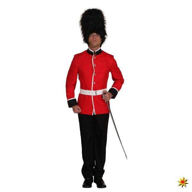 Kostüm Soldat Tommy Garde Uniformjacke UK Fasching Karneval Royals