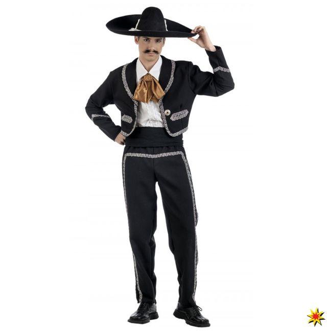 Kostüm Mariachi Sänger Mexiko Fasching Karneval Mexikaner