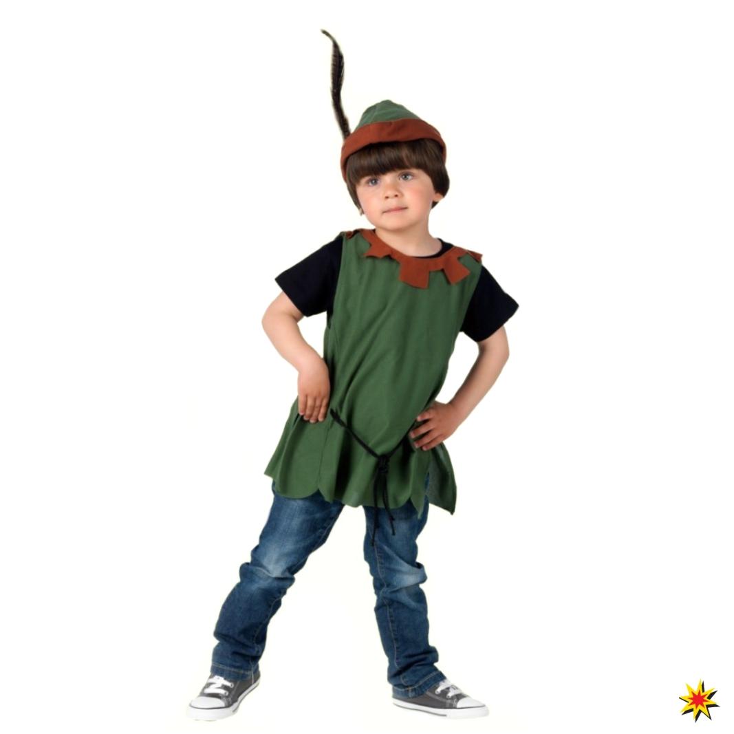 Kleiner Robin Hood Jungen Kostüm Fasching