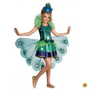 Kostüm Pfau, Tierkostüm Kleid