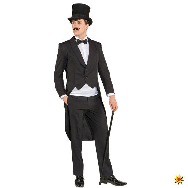 Herren Frack Standard Kostüm 20er Jahre Kleinkunst Revue Theater