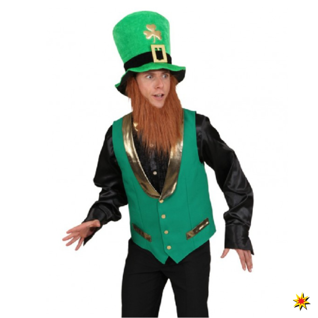 Herren Weste St Patricks Day Grosse 48 50