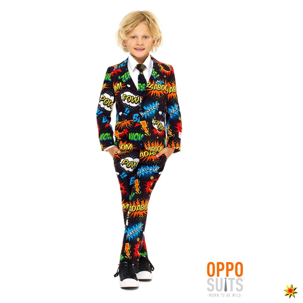 Kinder Anzug Comic Opposuit Badaboom Grosse 98 104