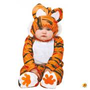 Baby Kostüm Tiger Ted, Overall Raubtier