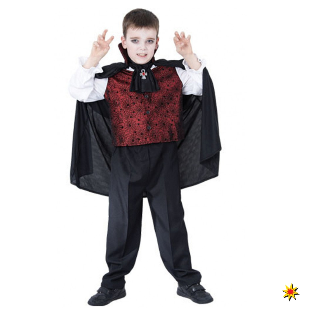 Halloween Kinderkostum Vampir Mark Grosse 128