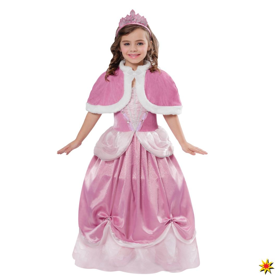 detaillierte Bilder super service Wählen Sie für authentisch Kinderkostüm Prinzessin Shazina, rosa