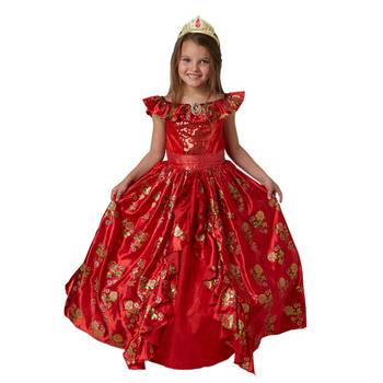 Elena von Avalor Kostüm für Kinder, Ballkleid