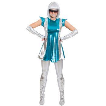 Kostüm Space Weltraum Woman für Damen