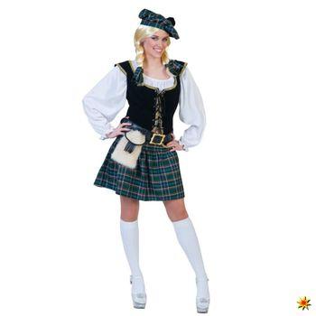 Highland Kostüm Schottin