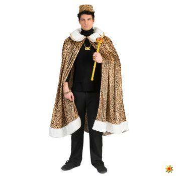 Kostüm Dschungelkönig, Leopardenmantel