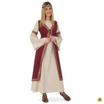 LARP Damen Kostüm Burgundi