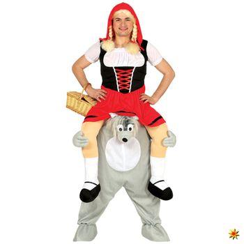 Trag Mich Kostüm Wolf