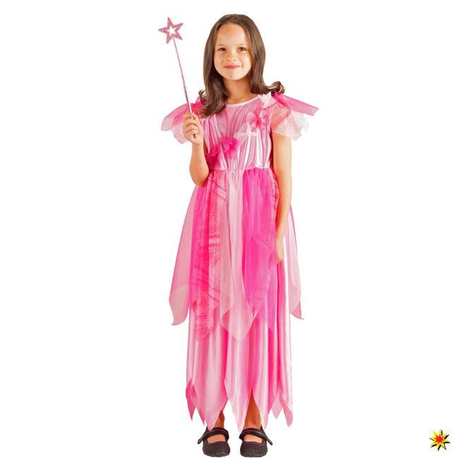 Prinzessin Kostüm Fee Jasmin für Kinder Gr. 104-128 rosa SALE Fasching Märchen Karneval Mottoparty