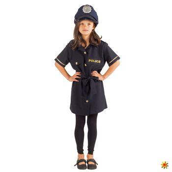 Mädchen Kostüm Polizistin Klara