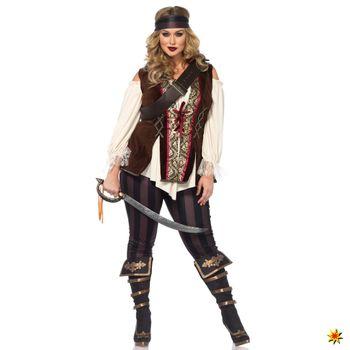 XXL Kostüm Piratin Mary