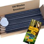100 Fackeln 100 Minuten Brenndauer Länge 60cm