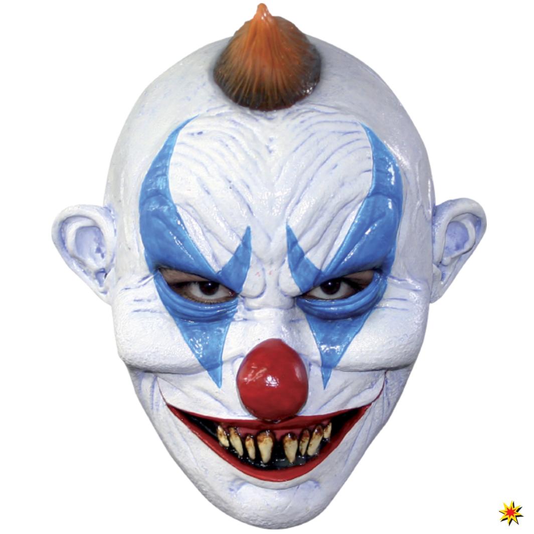 Horrorclown Maske Clown Halloween Zubehör Fasching