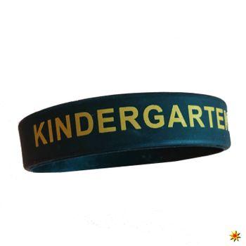"""Silikon-Armband mit Spruch: """"Kindergarten, DAS WARS"""""""