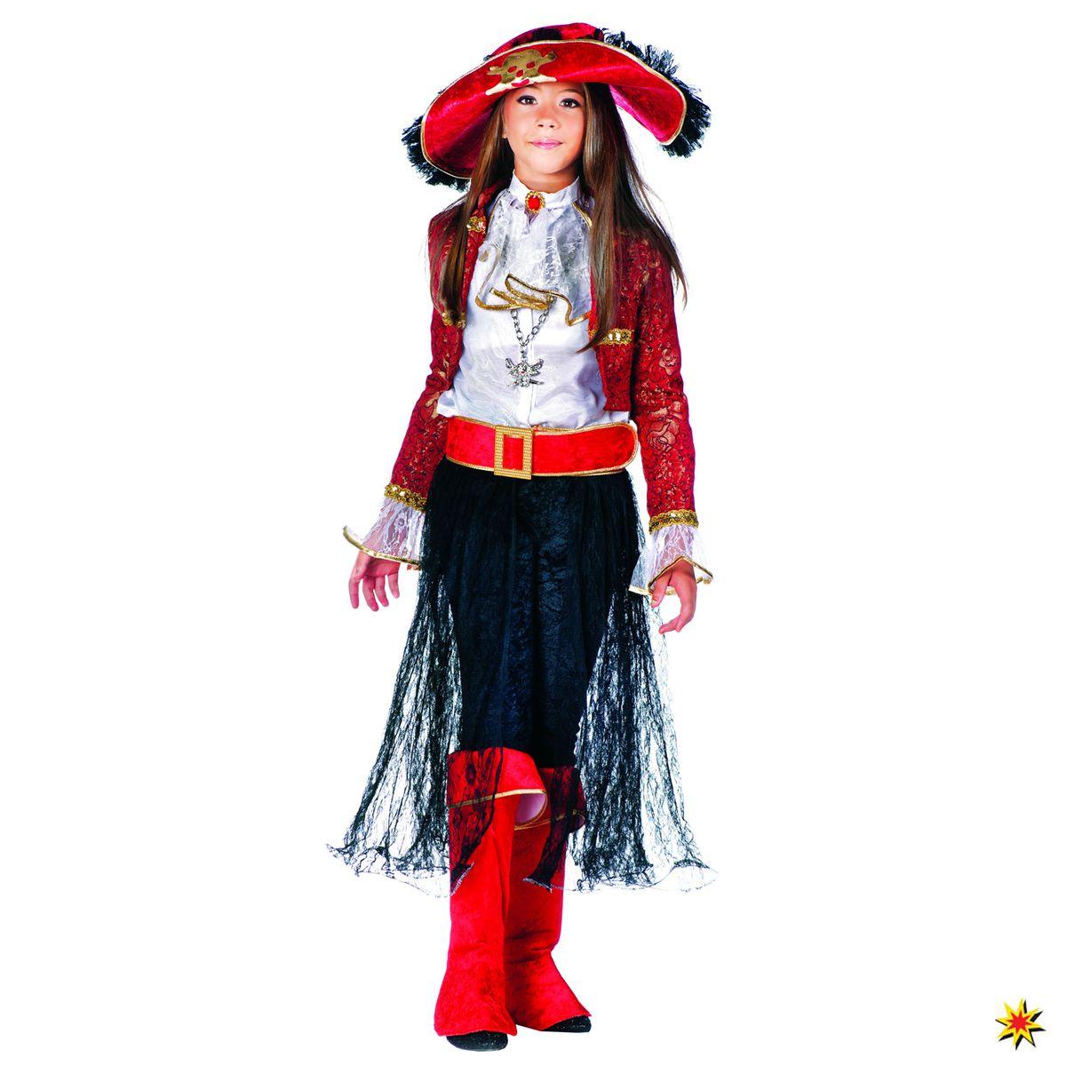 Kinderkostum Piratenkonigin Mary Read Grosse 122