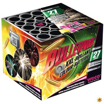 Feuerwerk Batterie Bulletproof 35 Sek. von Weco