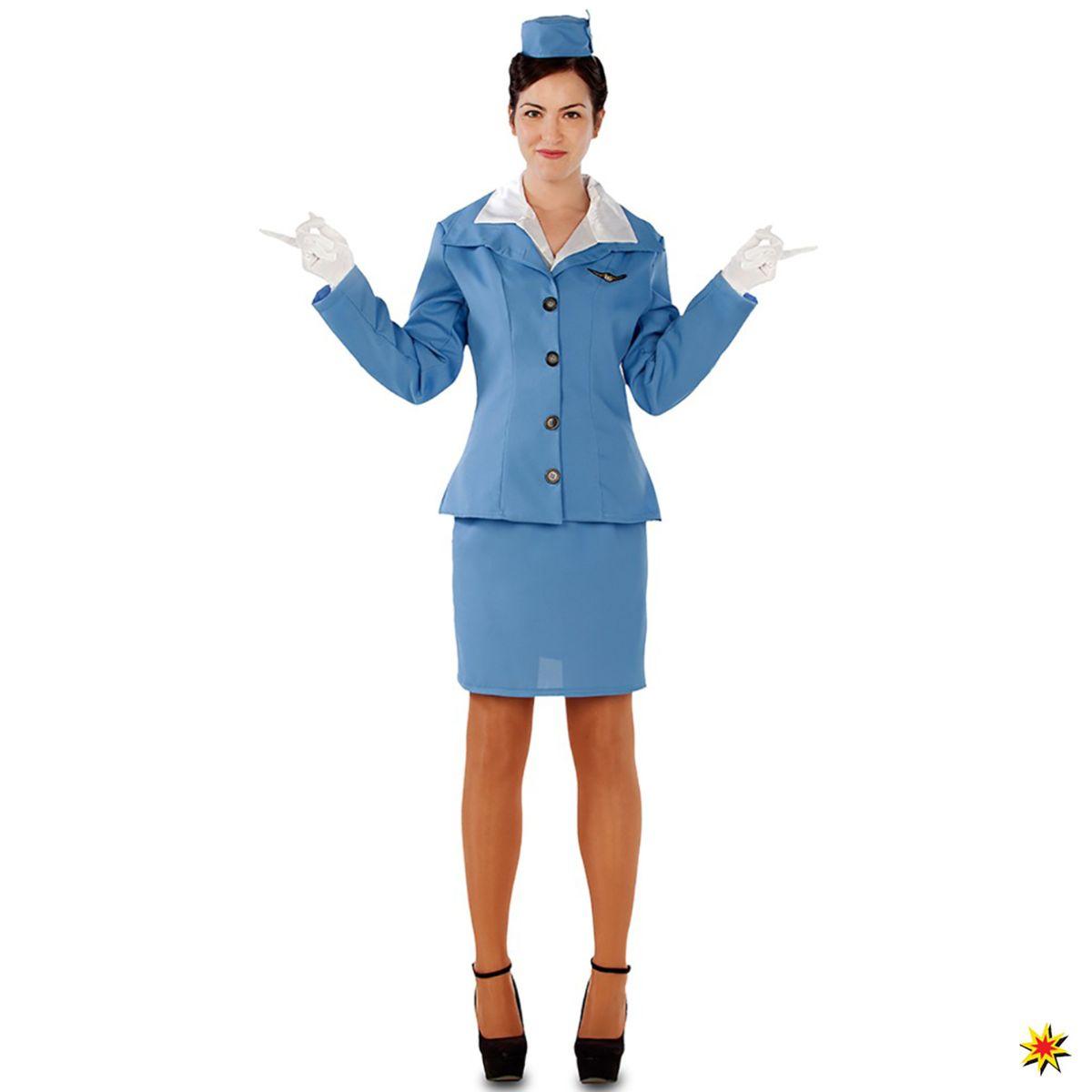 164acf13cf519 Damen Kostüm Flugbegleiterin Monique | Krause & Sohn Onlineshop