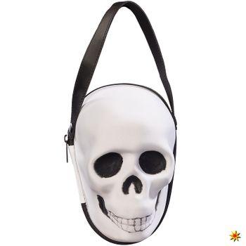 Damen Handtasche Totenkopf