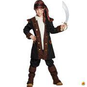 Kinder Kostüm Pirat Schrecken der Meere