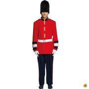 Herren Kostüm Garde Soldat Bobbie Uniform England UK Fasching Karneval Mottoparty