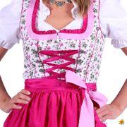 Damen Kostüm Trachtenkleid Dirndl Elena Oktoberfest Wiesn Fasching Karneval