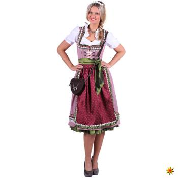 Damen Kostüm Trachtenkleid Dirndl Nora deluxe