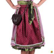 Damen Kostüm Trachtenkleid Dirndl Nora deluxe Oktoberfest Wiesn Karneval