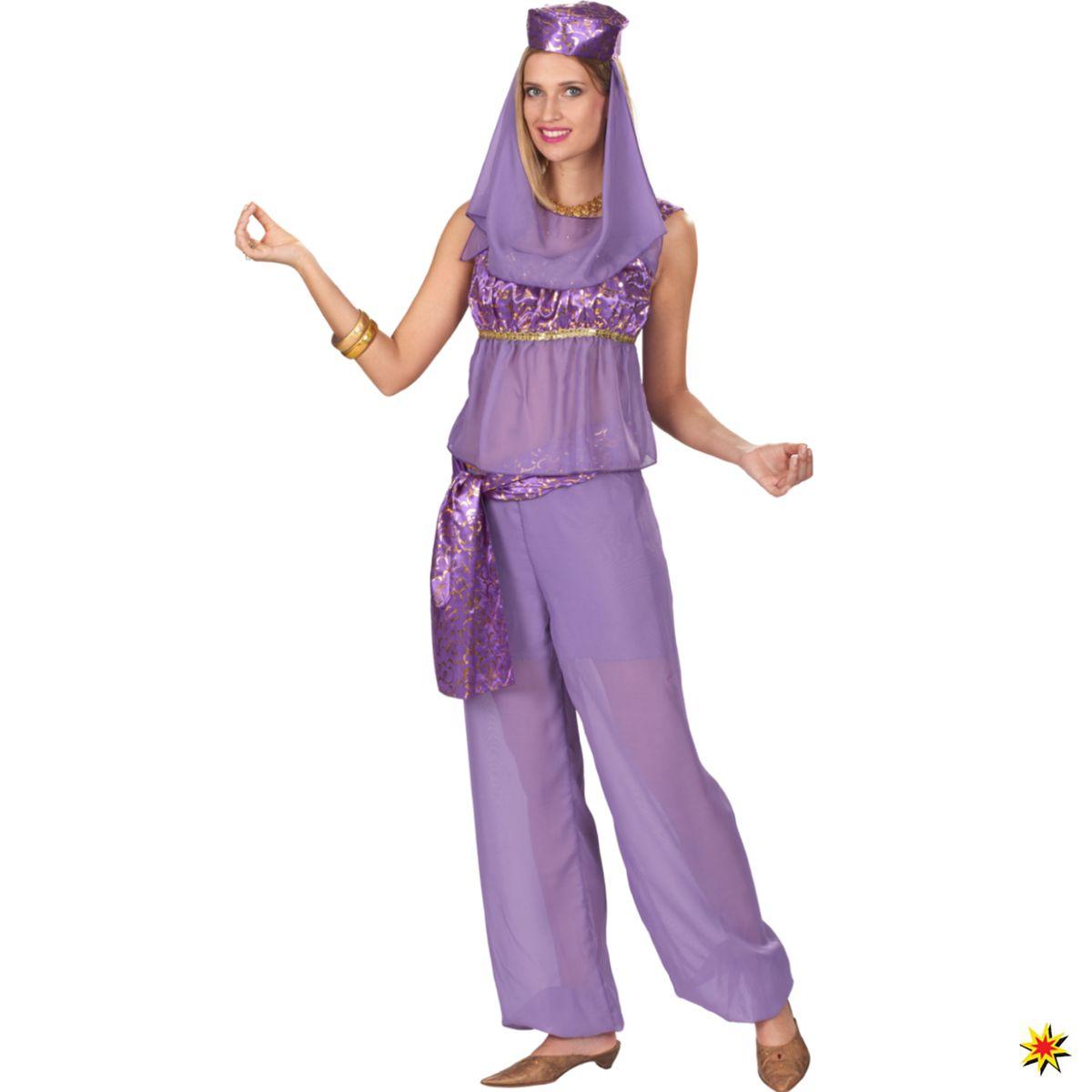 Damen Kostum Orient Jeannie Rana Grosse 44 46