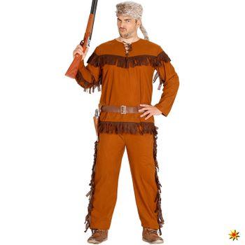 Herren Kostüm Trapper Jäger Sam