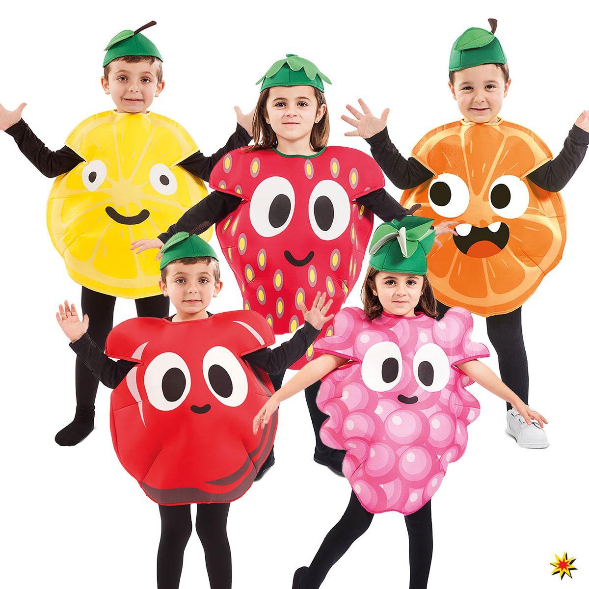 Kinder Kostum Freches Fruchtchen Erdbeere