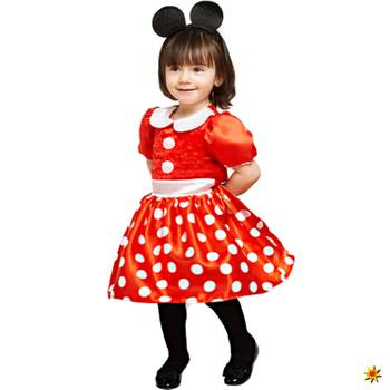 Kinder Kostüm Disney Minnie Maus, Kleid