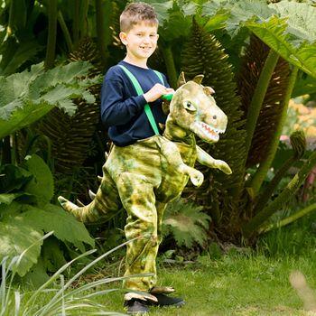 Kinder Kostüm Tragmich reitender Dino T-Rex
