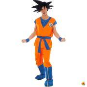 Herrenperücke Dragon Ball Z Goku schwarz Anime Kostüm-Zubehör Fasching Karneval Mottoparty
