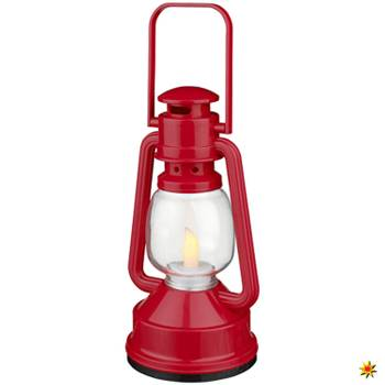 LED-Laterne Zwergenlampe rot