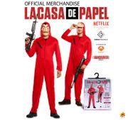 Unisex Kostüm La Casa de Papel Haus des Geldes inkl. Maschinengewehr