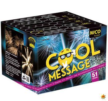 Feuerwerk Batterie Cool Message 35 Sek. von Nico