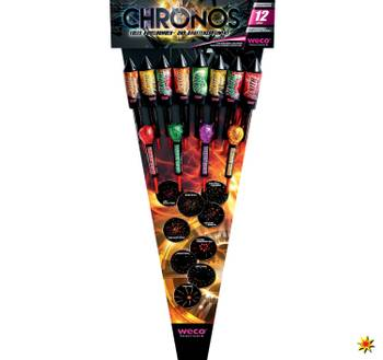 Chronos Kugelbomben-Raketensortiment 12-teilig von Weco