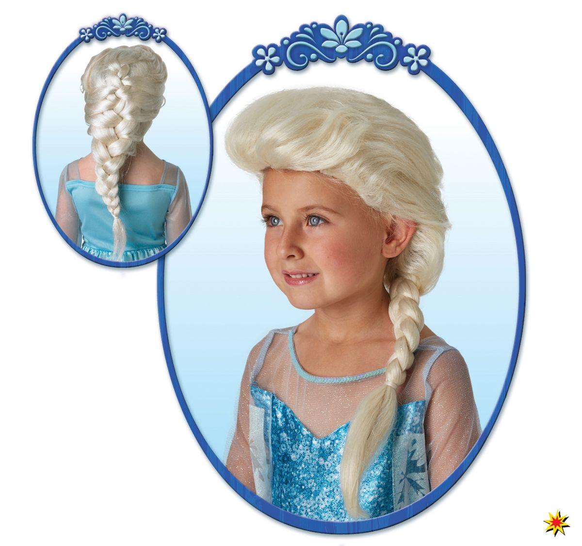 Kinder Perucke Elsa Frozen Disney Eiskonigin