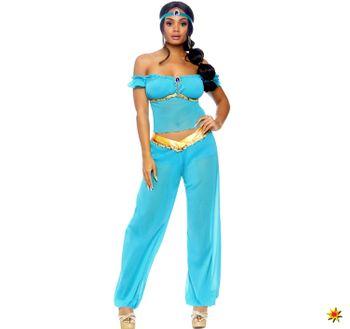 Damen Kostüm Jasmin arabische Prinzessin 1001 Nacht